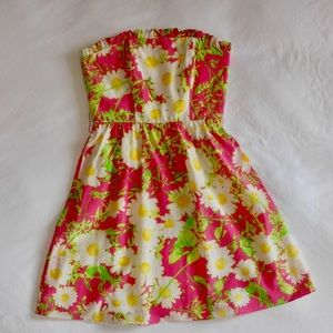 Lily Pulitzer Strapless Dress | Size 0